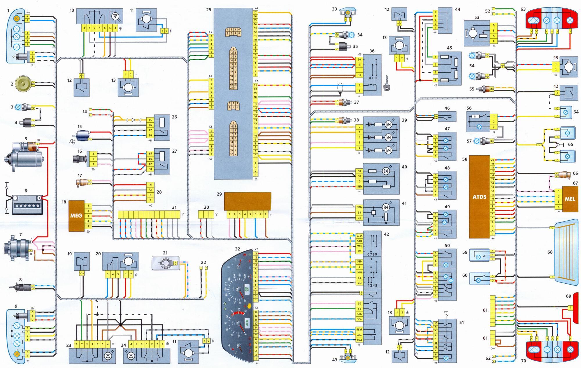 схема производства двигателя
